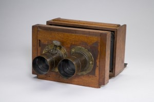 Mathew Brady Stereo Camera