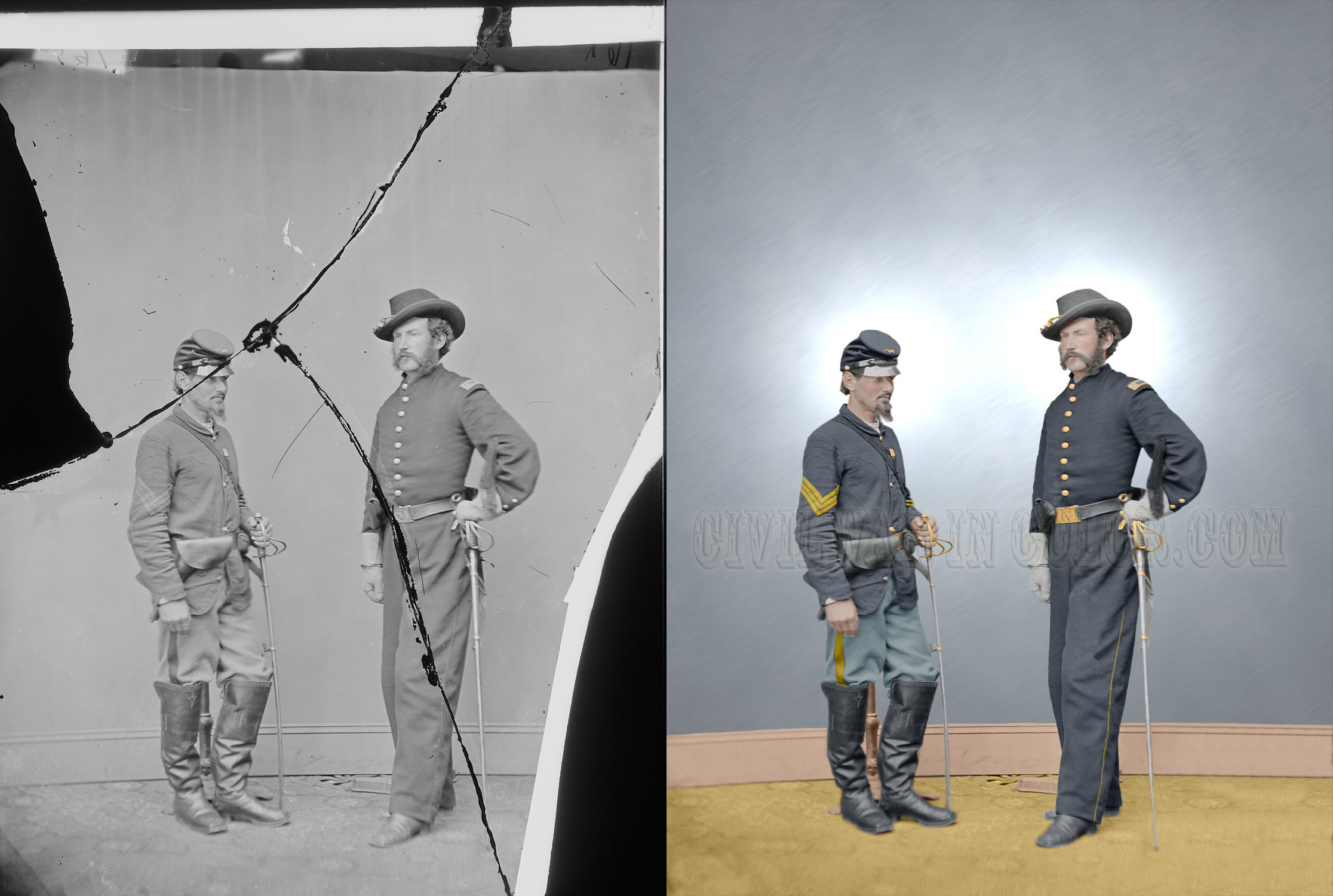 Restoration Examples History In Full Color